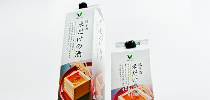 Vマークのパッケージデザイン