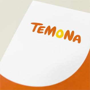 テモナのロゴマーク開発